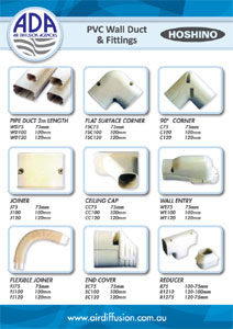 PVC Wall Duct Fittings V2