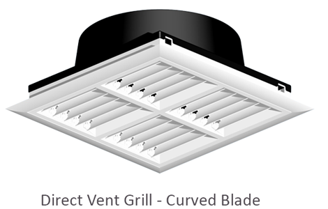 Direct Vent Grille 4 way with DVNA