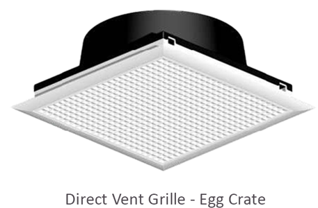 Direct Vent Grilles EC with DVNA