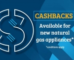 Stay cosy, with up to $1000 cashback on natural gas heating