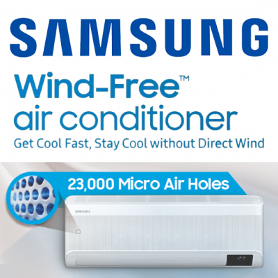 Samsung Wind-Free™ - The new way to cool