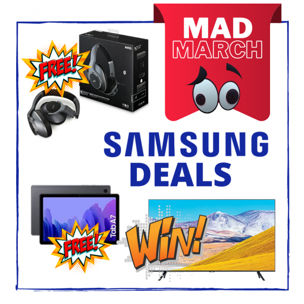Mad March Samsung Deals